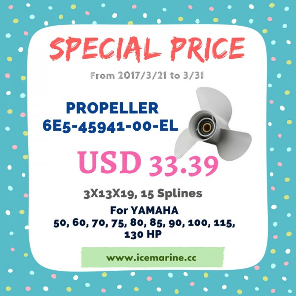 Special Price for Propeller 6E5-45941-00-EL